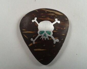 guitar pick skull /  plectrum skull,renovatiodesign,HMRj