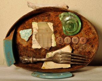 Assemblage Art Can 'Dine'