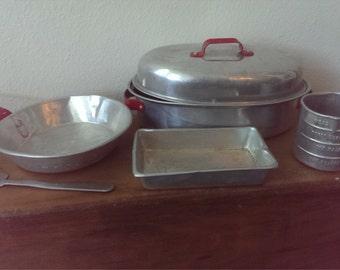 Childrens Aluminum Kitchen Utensils