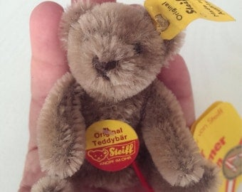 Adorable Miniature Steiff Bear