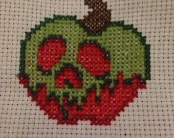 Poison Apple Cross Stitch