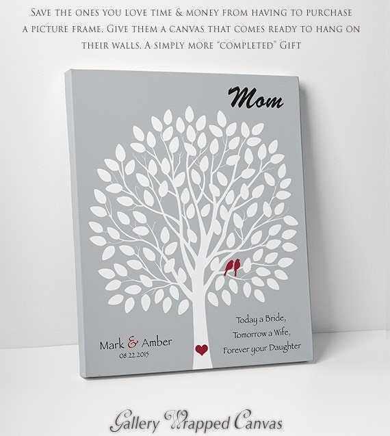 GiftWedding Gift for Mom or DadPersonalized Gift from Daughter ...