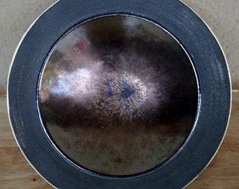 Bronze glazed stoneware bowl