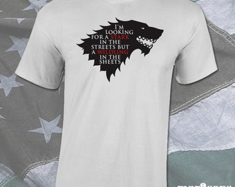 Game of Thrones Stark Shirt