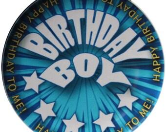 Birthday Boy Pinback Button