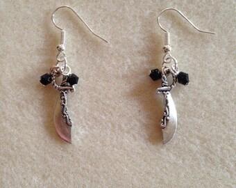 Pirate Sword Earrings