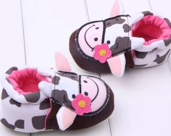 Cow shoes 0-6 months