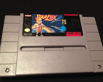 Star Fox | Super Nintendo Game Cartridge | SNES | Collectable 16-Bit Video Game | Cleaned and Tested