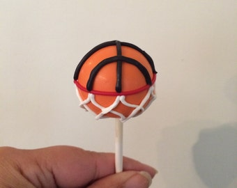All Star Sports Cake Pops (baseball, football, soccer, and basketball)