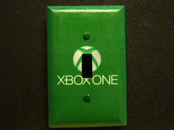 Book Cover Printable Xbox One : Light switch cover xbox one print