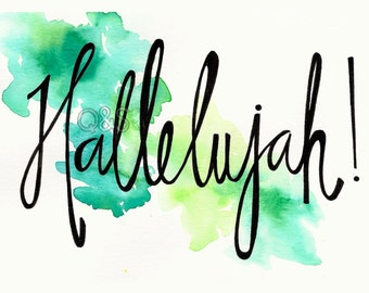 Hallelujah! Card