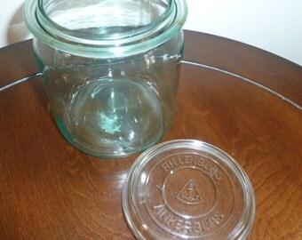 Vintage Ankerglas canister jar