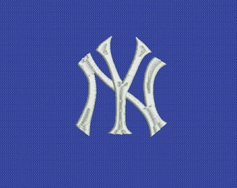 SALE - New York NY Yankees Filled - Embroidery Machine Design