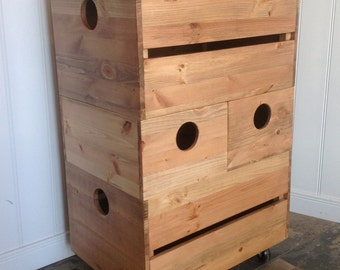 toy box hobby box in antique pine wooden apple crate stacking storage boxes on wheels