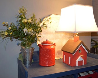 Birdhouse Lamps, custom to your order