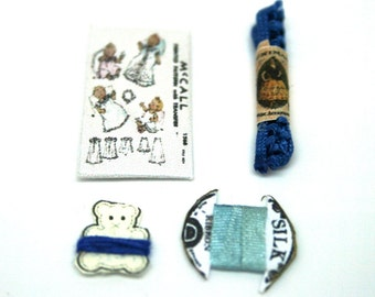 Baby Boy Sewing Set 12th Scale