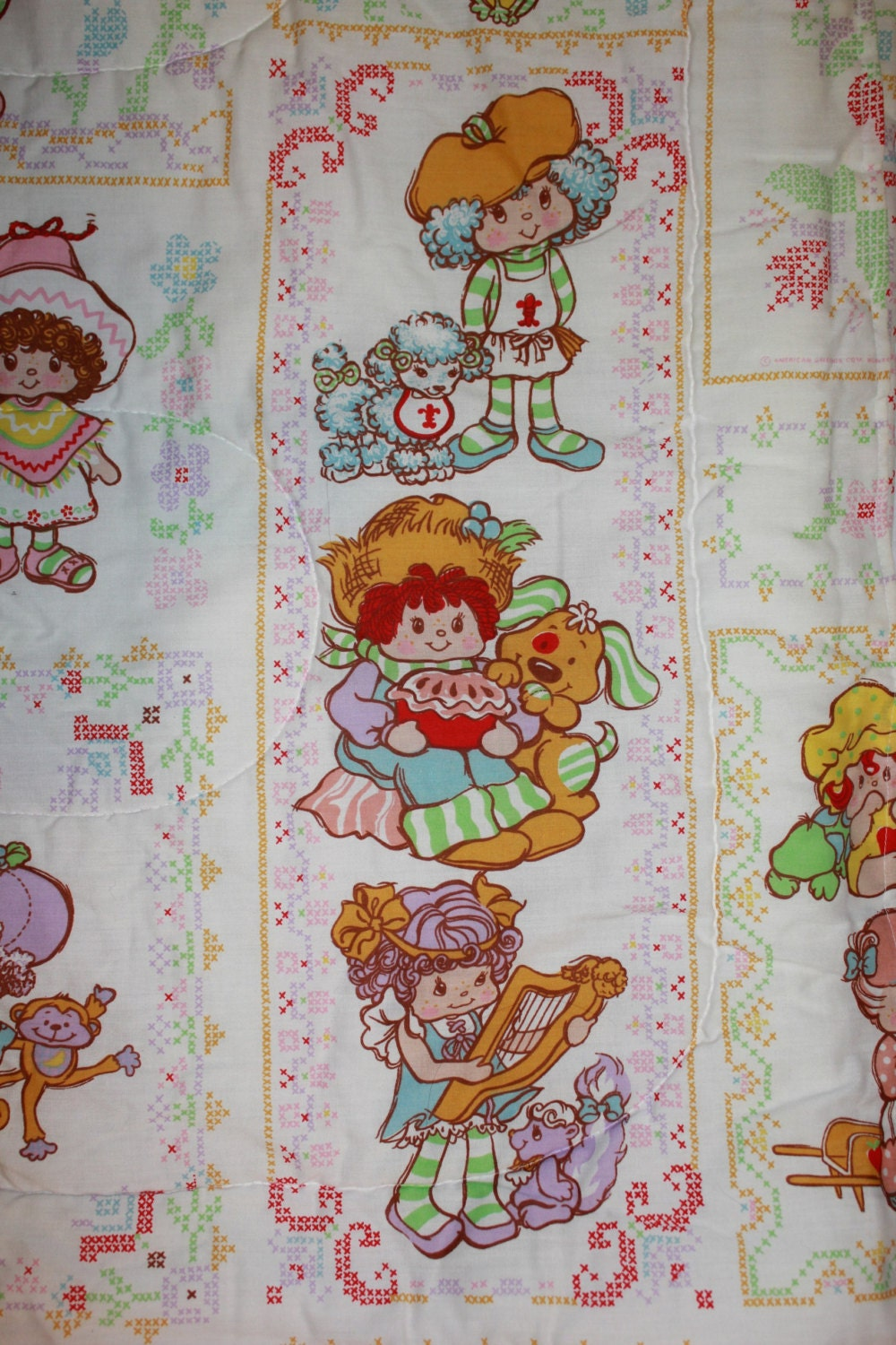 Vintage Strawberry Shortcake Bedding 119