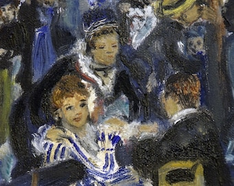 "Copy from Renoir ""Bal du moulin de la Galette"" OUTLET/SALE -15%"