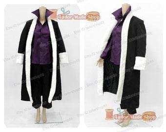 Fairy Tail Laxus Dreyar cosplay costume