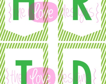 Happy St Patricks Day! Printable Banner