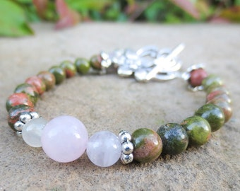 Happy Mommy Healthy Pregnancy Bracelet for the Expecting Mom, Protection from Miscarriage Jewelry