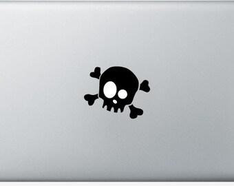 Sticker Macbook 11-13-15-17 inches - Skully