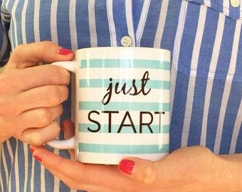 Just Start Mug