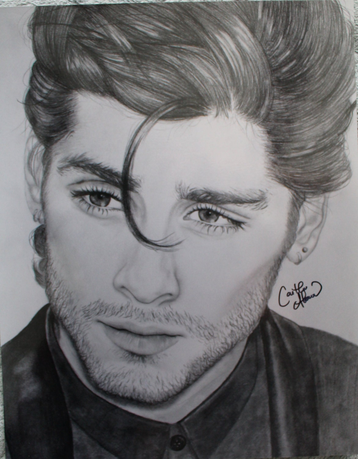 Zayn Malik Pencil Drawings