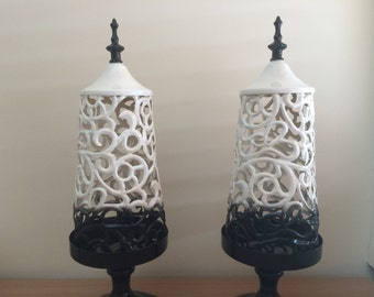 Decorative Metal Candle Holders