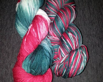 Limited edition candy cane. 440 yards and 100 grams of holiday bliss
