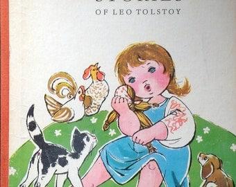 Vintage Children's Book : Leo Tolstoy's Little Stories