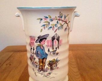 Vintage 1950's Crown Ducal 'Petit Pierre' vase
