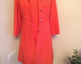Vintage Aubrey Segal dress and coat suit. 1960's