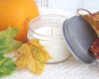 Hayride 4 oz Jar Candle Autumn Soy Candles, Country Farmhouse Decor