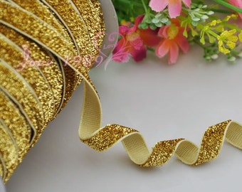 25y Gold Color Ribbon Wedding Party Supply Decoration DIY Crafts