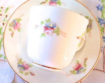 SALE SALE SALE - floral handpainted victorian cup and saucer. was 9.99 now 5.99