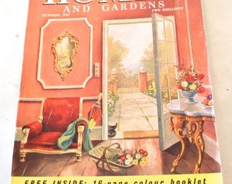 1961 october issue of homes and gardens magazine
