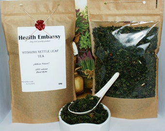 Stinging Nettle Leaf Tea (Urticae Folium) - Health Embassy - Organic