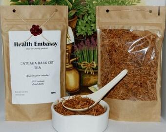 Catuaba Bark Tea (Erythroxylum catuaba) - Health Embassy - Organic