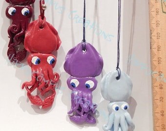 Cuttlefish Pendants