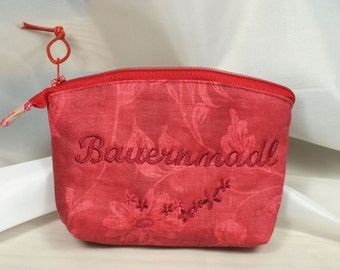 toiletry bag, utility pouch *** Bauernmadl ***