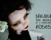 OOAK Monster high Repaint Art Doll - Dimana