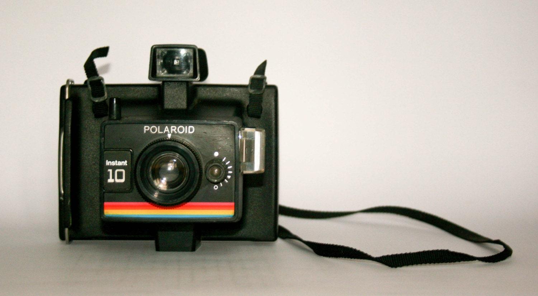 polaroid instant 10 land camera from doublerandc on etsy studio. Black Bedroom Furniture Sets. Home Design Ideas