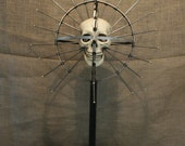 Craniometer Real Genuine Human Skull Display Medical Oddity Dentistry Medieval Weird Creepy