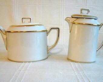 Teapot and Milk Pitcher