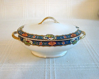 Covered Serving Bowl