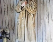 Women's Vintage Borgana Borg Deluxe 50s Faux Fur Coat