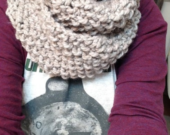 MADE TO ORDER Chunky Knit Cowl Scarf