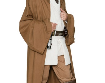 Star Wars Jedi Robe ONLY - Light Brown - Replica Star Wars Costume - JR 1425