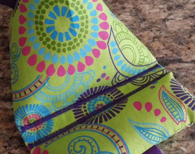 Gadget Bags-Artsy Collection (Lime Green Kaleidoscope)